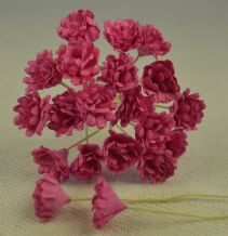 DEEP PINK GYPSOPHILA / FORGET ME NOT Mulberry Paper Flowers